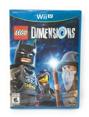Lego Dimensions: Wii U game disc only (w/case) SEALED