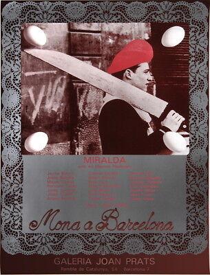 Miralda-Galeria Joan Prats-1980 Poster, usado comprar usado  Enviando para Brazil