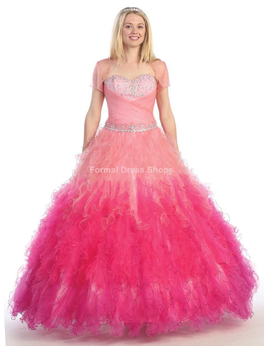 SALE !! NEW Cinderella Quinceanera Dress Prom Marine Corps Ball Gown ...