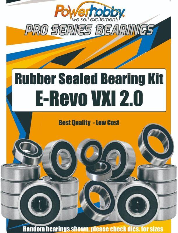 PowerHobby Pro Series Rubber Sealed Bearing Kit Traxxas E-Revo VXl 2.0