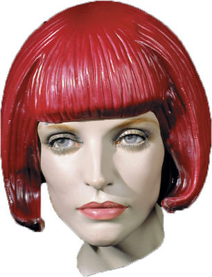 Latex Wig (Morris Costumes Women's Short Beebop Rubber Latex Wig.)