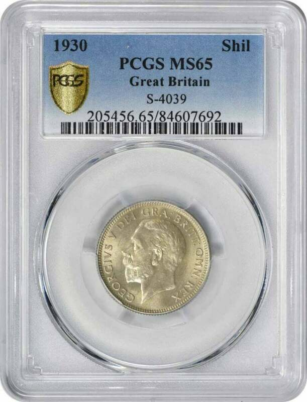 1930 Great Britain Shilling MS65 PCGS
