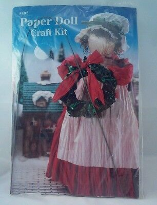Paper Doll Craft Kit #402 Mrs. Claus
