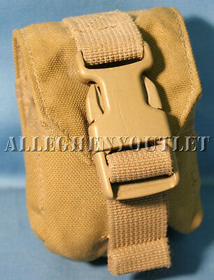 US Military USMC Molle II Coyote Frag Grenade Pouch Eagle Industries MARSOC - Molle Grenade Pouch