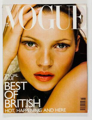KATE MOSS Nick Knight DAVID BAILEY Karen Elson UK Best of British Vogue