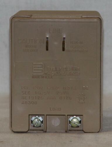 Basler Electric 16.5 Volts AC 25VA Wall Mount Power Transformer