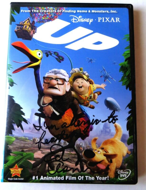 """Ed Asner Signed Autographed DVD Cover Up """"I"""
