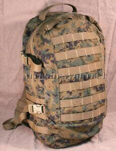 USMC-ILBE-MARPAT-ASSAULT-PACK-Woodland-Digital-USMC-US-MILITARY-ISSUE-VG-EXC