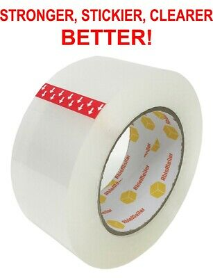 12 Roll Clear Carton Sealing Packing Shipping Tape 2 1.8 Mils 110 Yard 330
