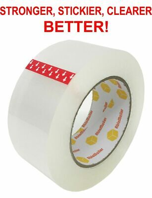 36 ROLL CLEAR CARTON SEALING PACKING SHIPPING TAPE 2