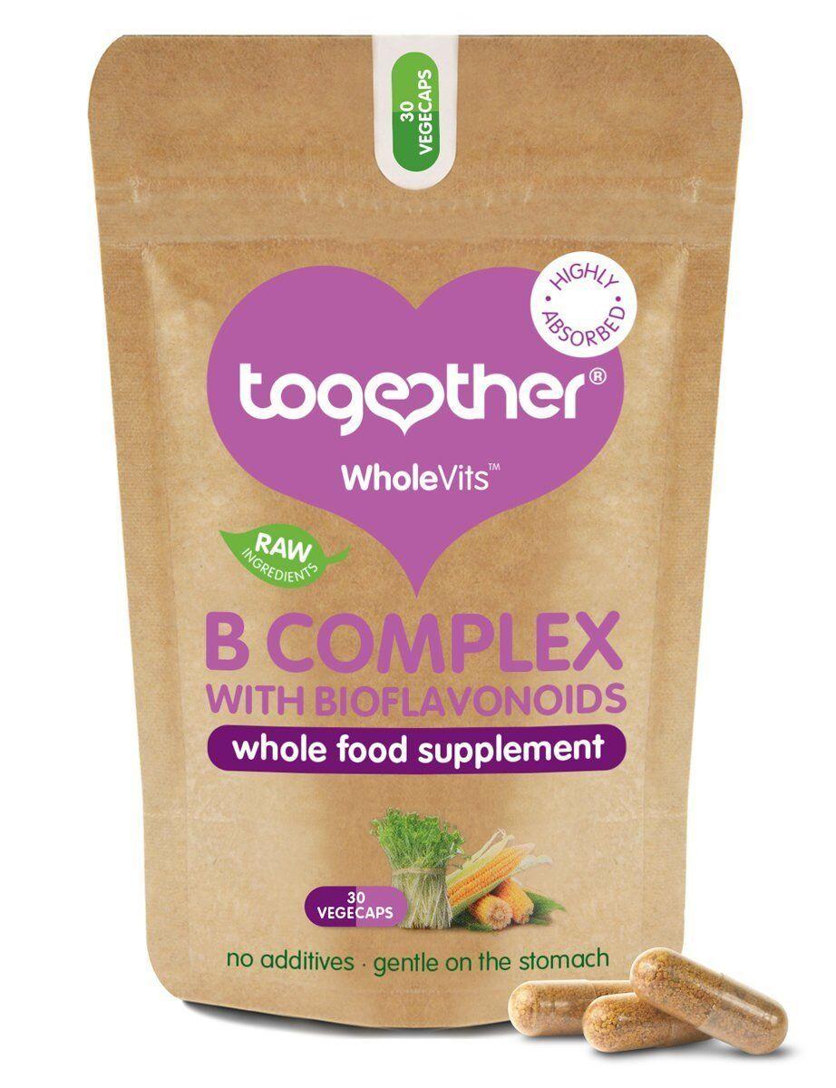 Together wholevits - Vitamina B COMPLESSO CON BIOFLAVONOIDI 30 capsule