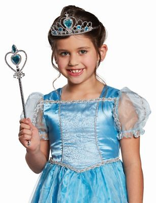 Mot - Kostüm Zubehör Prinzessin Diadem Feenstab Karneval Fasching