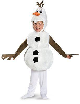 Olaf Frozen Deluxe Schneemann-Kostüm Kleine Jungen Kind Kinder Disney Plüsch - Frozen Olaf Kind Kostüm