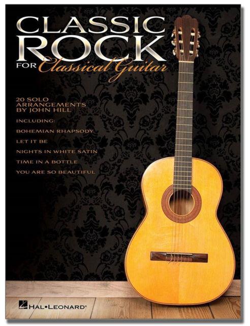 Classic Rock for Classical Guitar - Noten Gitarre - HL703633 - 9781458451286