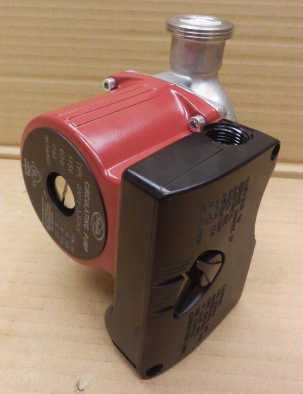 GPD15-3.5SNUC Circulator Pump 115V, MaxFlow 21 GPM, MaxHead 12Ft