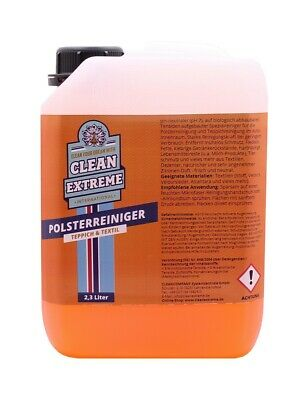 Cleanextreme Car Upholstery Cleaner 2,3 L Seats Mat Fabric Suede Cleaner