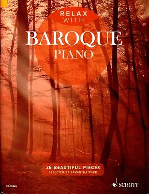 Relax with Baroque Piano - Klavier Noten - ED13849 - 9781847613974