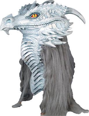 Morris Costumes Ancient Mario Chiodo Dragon Premiere Head Latex Mask. MR035018 - Mario Chiodo Masks