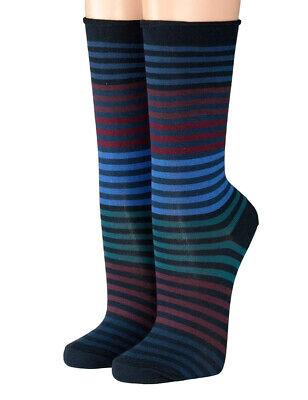 Crönert Herren Longsocks Socken Design Multiringel 26502 bordeaux 1622
