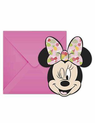Maus Tropisch Einladungskarten mit Umschlag Invitation Party (Tropische Einladungen)
