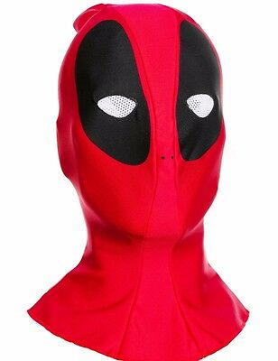 Deadpool Authentic Costume (Deadpool Costume Mask Authentic Deluxe Adult Dead Pool Mens Marvel - Fast Ship)