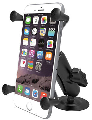 RAM Flex Surface Mount w/ X-Grip for Large Phone - iPhone Plus, MAX, Galaxy Note