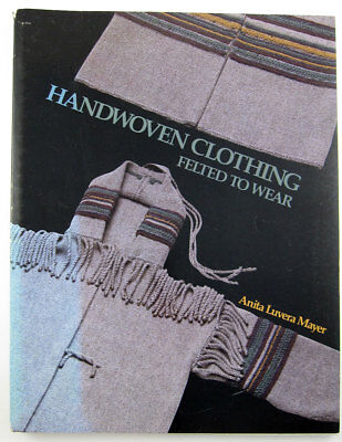 Handwoven Clothing felted felt fabric fashion design patterns vintage 1980s