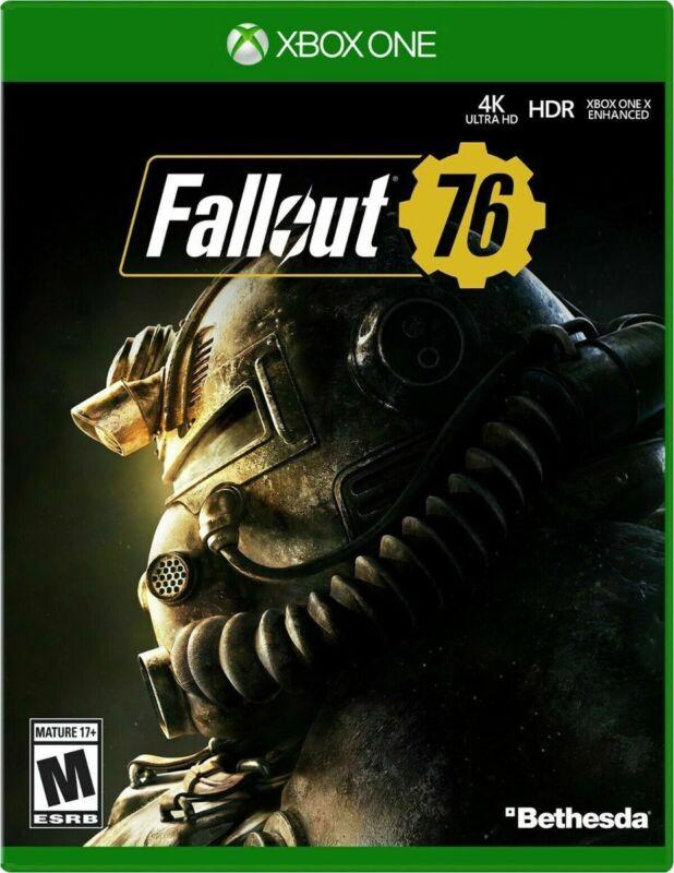Fallout 76 USED SEALED (Microsoft Xbox One, 2018)