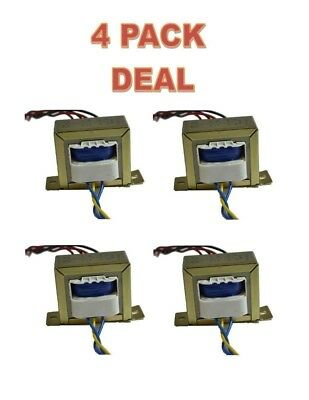 4 Pack Line Matching Transformer 2a - Lp-575 110220v 12-0-12v 2a