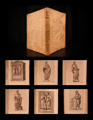 1654 De Re Vestiaria Ancient ROME Costume Clothing Illustrated Octavio Ferrari - Ancient Rome Costumes