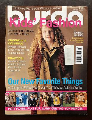 Burda Kid's Fashion Magazine 2001](Kids Fashion Magazines)