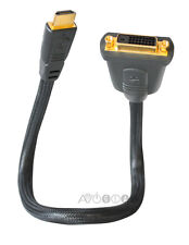 AR Pro Series II HDMI (Male) to DVI (Female) Adapter Cable (HT481C). NEW!!!