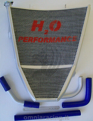 Water Racing Oversized Full Radiator H2O Performance Suzuki GSXR 600 2007/2009