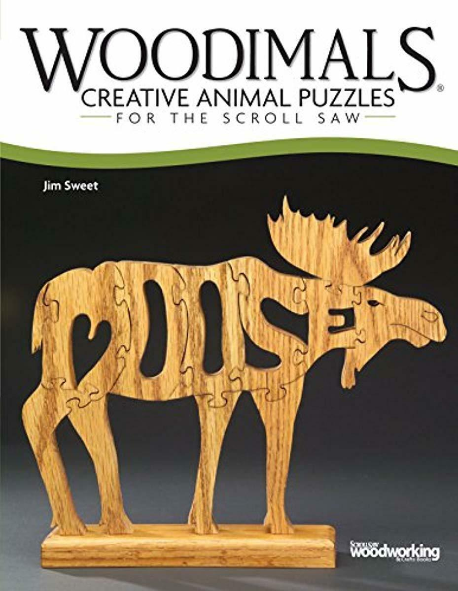 woodimals creative animal puzzles scroll saw patterns