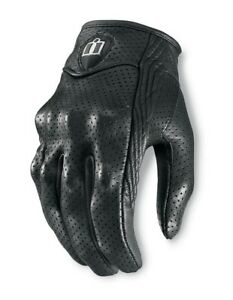 Women's Icon Pursuit Motorcycle Gloves S