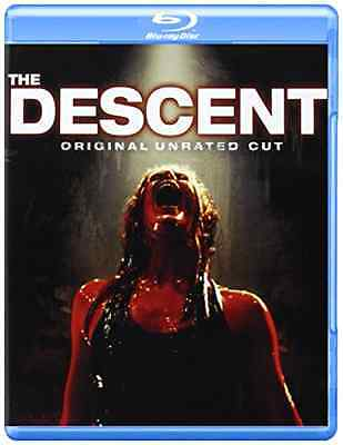 The Descent  Original Unrated Cut   Blu Ray  Horror Scary Movie Region A 1 New