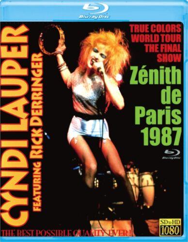 Cyndi Lauper   / 1987 TRUE COLORS WORLD TOUR IN PARIS Blu ray