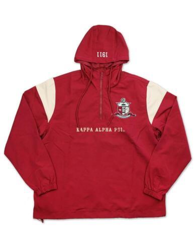 Kappa Alpha Psi Fraternity Waterproof Anorak Jacket- Size 3XL-New!