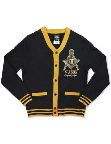 Mason Masonic Lightweight Cardigan- Size XL-New!
