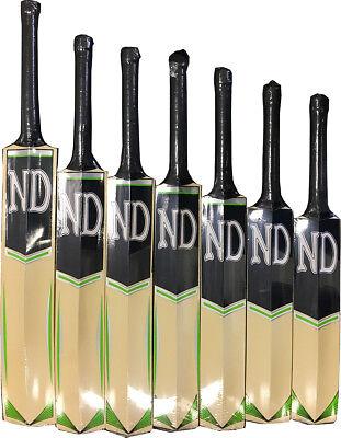 Junior Cricket Bat Wooden Cricket Match Bats Children Kids Size 0,1,3,4,5,SH