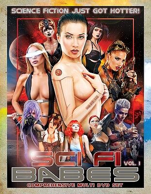 Sci Fi Babes   Hot 2 Dvd Collectors Set  Free U S  Shipping