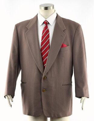 PAL ZILERI PULL Men's Brown COLOMBO Cashmere Gruppo Forall Sport Coat Blazer 46R
