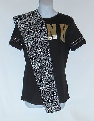 Victoria's Secret Pink Aztec Fashion Leggings + Studded Logo T-Shirt XS NWT