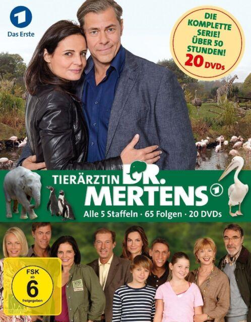20 DVDs * TIERÄRZTIN DR. MERTENS - KOMPLETT BOX - STAFFEL 1 - 5 # NEU OVP &