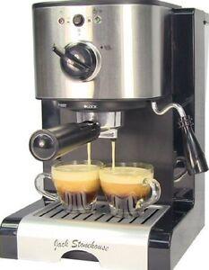 Coffee Machine Barista Style Professional Latte Cappuccino Expresso 15 Bar