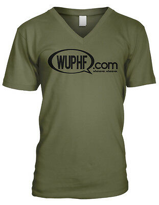 Wuphf Com Whenever Wherever The Office Michael Scott Jim Pam Mens Vneck Tshirt