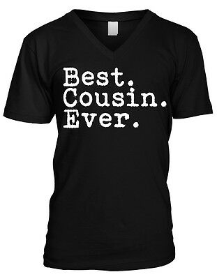 Best Cousin Ever Period - Family Favorite Funny Sayings Mens V-neck