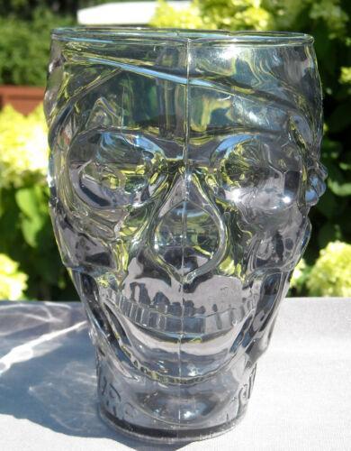 "Treasure Island Las Vegas Casino Pirate Skull Mug Plastic 30 oz 6.25"" tall"