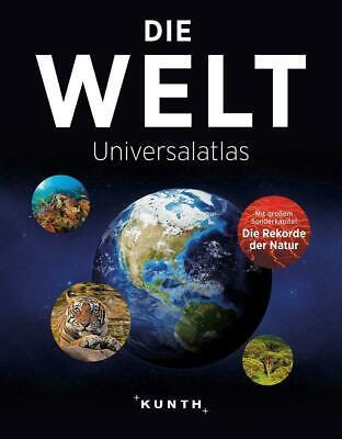 Die Welt - Universalatlas   Buch   KUNTH Weltatlanten   Deutsch   2020
