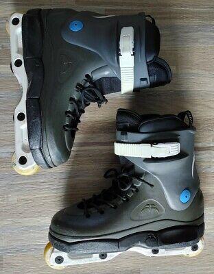 Razors SL aggressive skates sz. 8-9 Rolleblade wheels sg5 berings USD liners